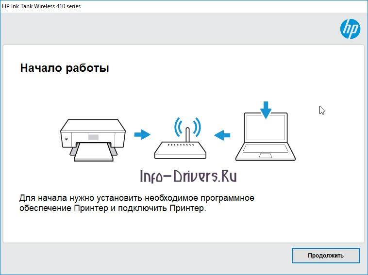 Драйвер для HP Ink Tank Wireless 415 - скачать + инструкция